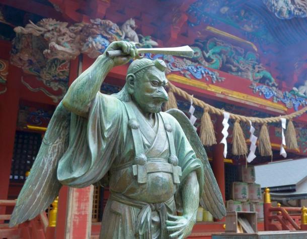 KoTengu (小天狗) Little Tengu, also known as KarasuTengu, Crow Tengu.