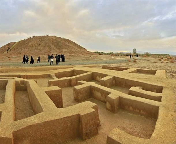 The Konar Sandal site near Jiroft in Iran has revealed the remnants of an ancient culture some experts argue is the true cradle of civilization. (Discover Kerman)