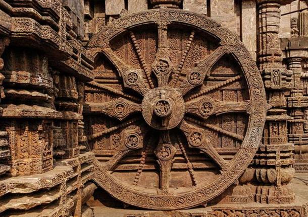 Konark Sun Temple – Exquisite Wheel of the Chariot.