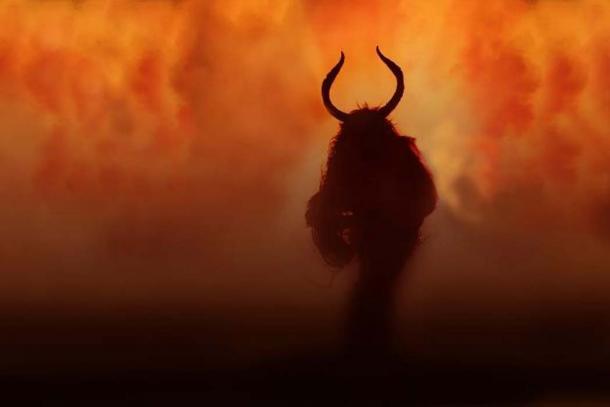 Krampus, the Christmas Devil. ( CC BY SA 2.0 )