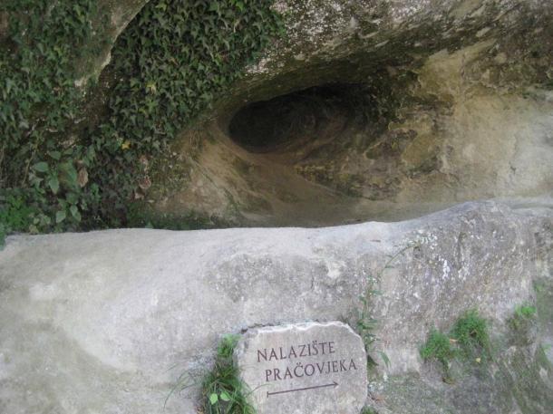 Krapina Neanderthal site in Croatia