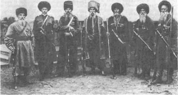 Kuban Cossacks, late 19th century. (Public Domain)