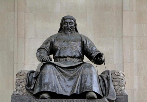 Statue of Kublai Khan.