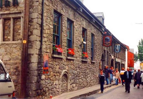 Kyteler's Inn, Kilkenny City, Ireland, in 1998.
