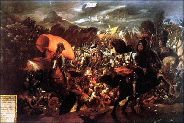 The battle of La Noche Triste.