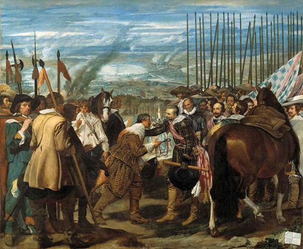 La Rendición de Breda (The Surrender of Breda) (1635) by Diego Velázquez.
