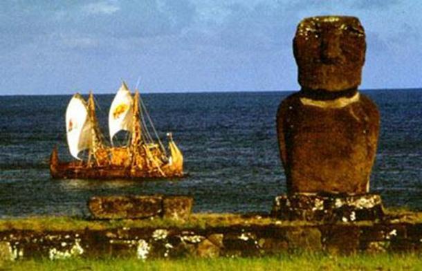 La balsa de totora, Viracocha I, y su arribo a la Isla de Pascua