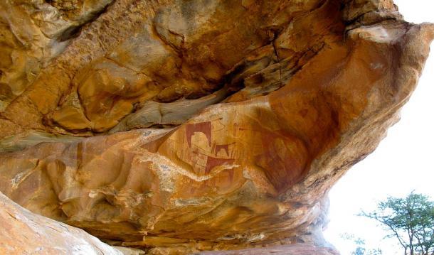 Laas Geel Rock Cave Paintings