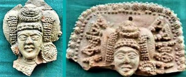 Examples of 'Ladies with Weapons as Hairpins'/ Indian Goddess artifacts.  (Provided by the author)