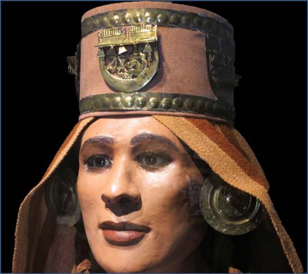 Reconstruction of the Lady of Chornancap. (Fotos e Imágenes del Perú)