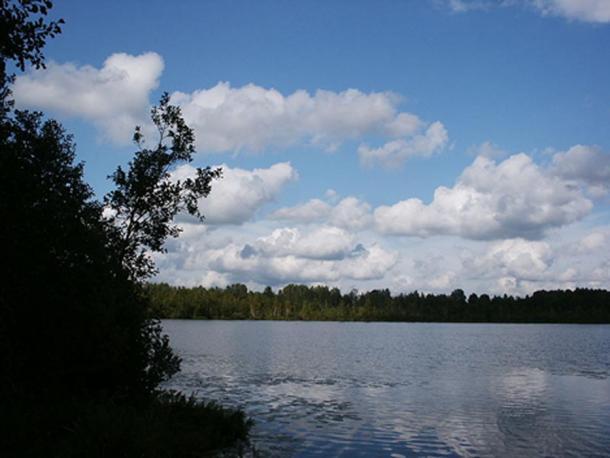 Lake Svetloyar in the Voskresensky District