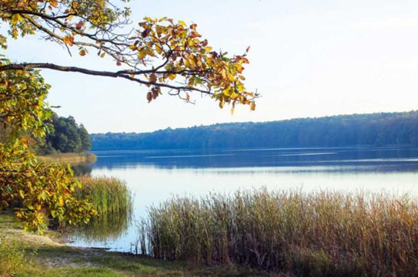 Lake in the National Park of Wielkopolska.