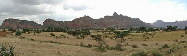 Landscape in Gheralta Massif, Tigray Region, Ethiopia