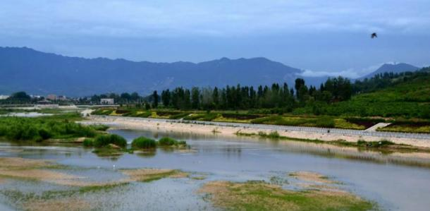 Lantian County in Shaanxi Province in China