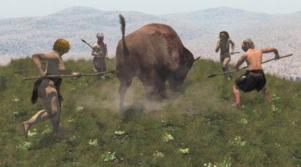 Large animals were hunted father than they could replenish