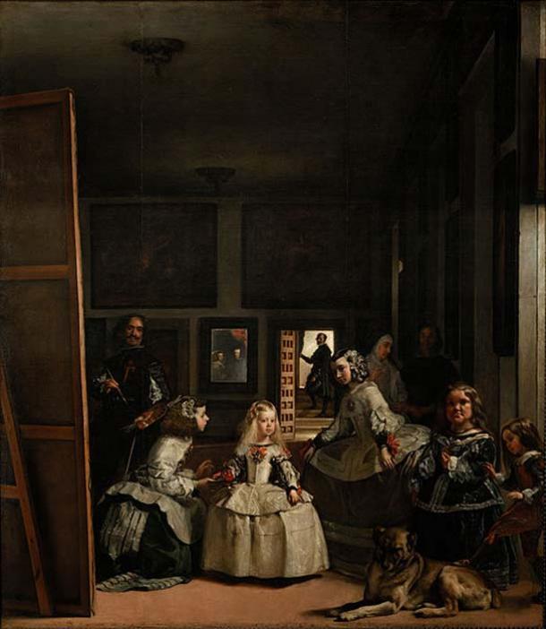 'Las Meninas' (1656/1657) by Diego Velázquez. (Public Domain)