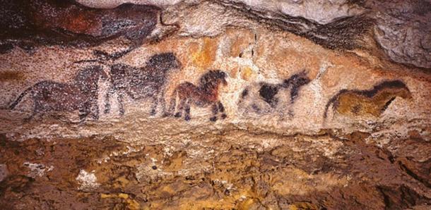 Lascaux Cave Art: Horses