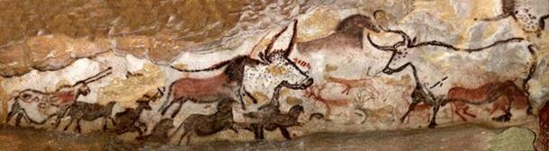 Lascaux Cave Art Scene