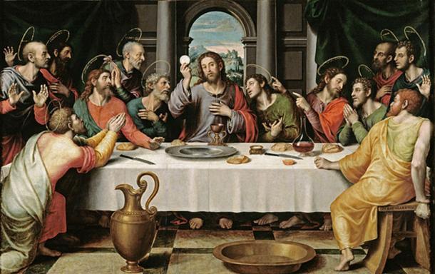 'The Last Supper' Juan de Juanes.