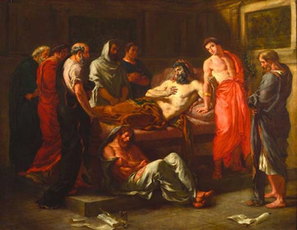 Last Words of the Emperor Marcus Aurelius – one of the 'Five Good Emperors' (Sdegroisse / Public Domain)