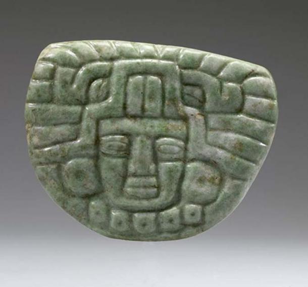 Late Classic (650-850 AD) Maya face pendant. (CC BY-SA 3.0)