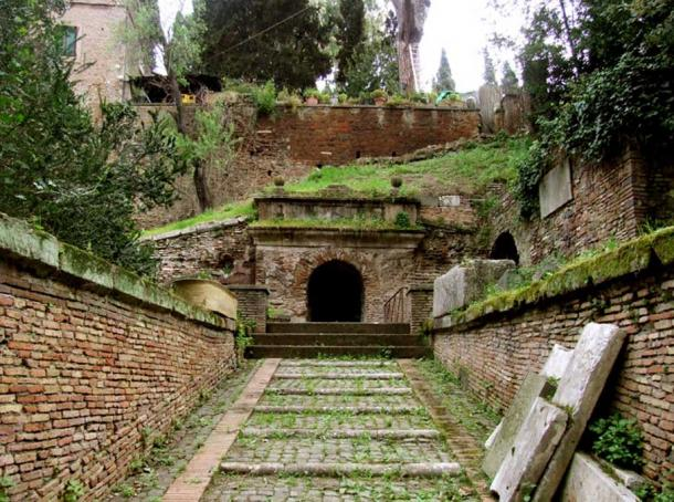 The Latter Day Entrance to the Scipios Tomb.