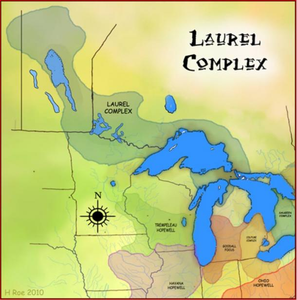The Laurel Complex and other Hopewellian peoples