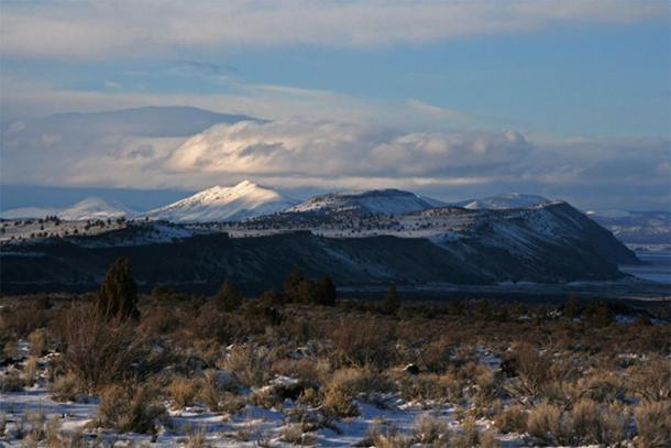 """A view of Lava Beds National Monument"" NPS Photograph"