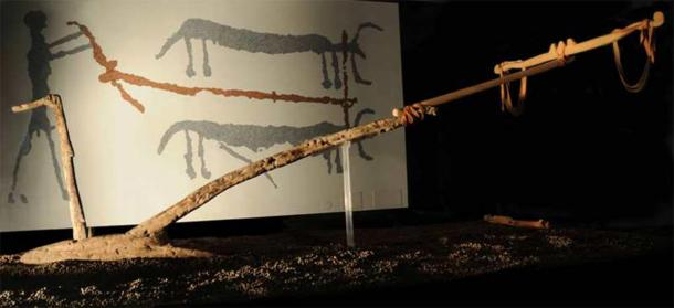 Lavagnone Plough, of the Polada culture, discovered in Italy, from the Early Bronze Age. (Museo Archeologico G. Rambotti / CC BY-SA 3.0)