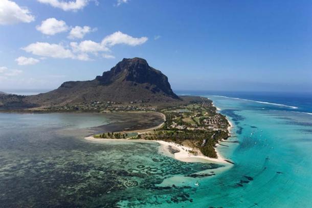 Le Morne Brabant Peninsula, Mauritius.