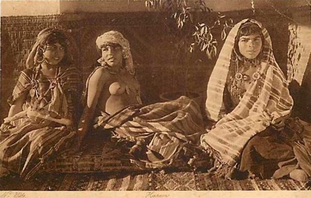 Harem, Lehnert and Landrock Postcard
