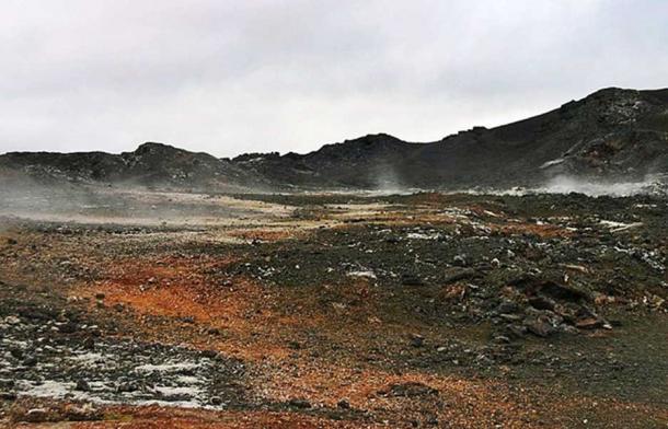 Leirhnjúkur Lava Field, Iceland. (Justraveling.com/CC BY SA 4.0)
