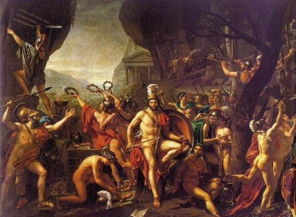 Leonidas at Thermopylae (1814)