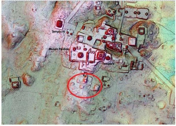 LiDAR technology is revealing remains of Tikal architecture which were literally hidden in plain sight. (Pacunam LiDAR Initiative / Thomas Garrison)