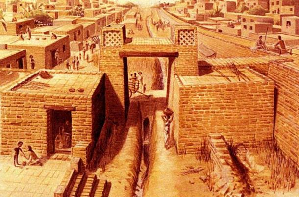 Life in Harappa, one of the main cities of the ancient Harappan culture
