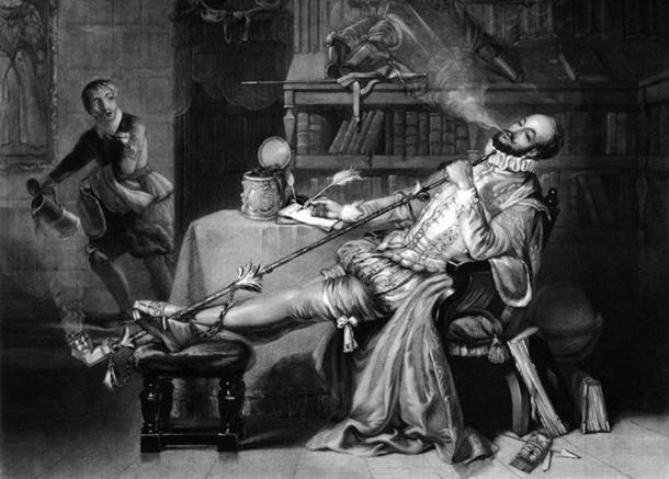 Life was good for Sir Walter Raleigh, until the Queen died (public domain)
