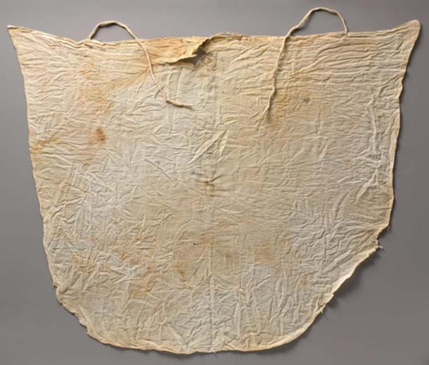 Linen Kerchief from Tutankhamun's Embalming Cache.