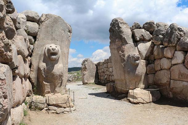The Lion Gate, Hattusa, Turkey.