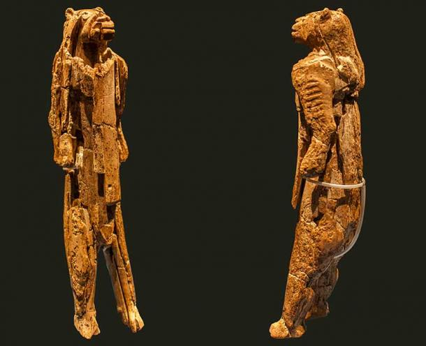 The Lion-Man of the Hohlenstein-Stadel was discovered in a cave in 1939 in Germany and is considered the oldest zoomorphic figurine in the world. (