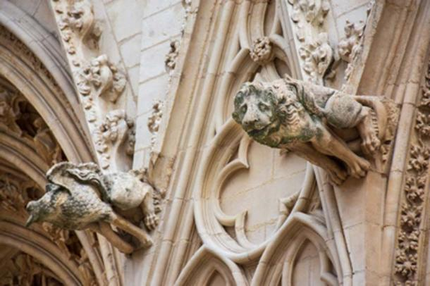 Lion gargoyle at the Saint-Jean Cathedral, Lyon, France. (HJBC / Adobe Stock)