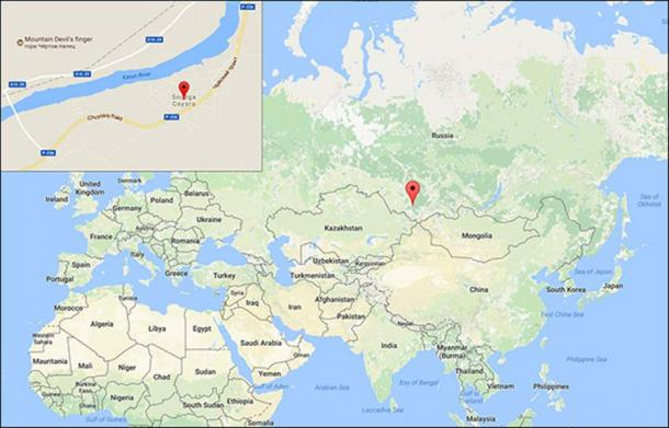 Where Is Siberia On A World Map.Discovered The Great Wall Of Siberia Dating To 1st Millennium Bc