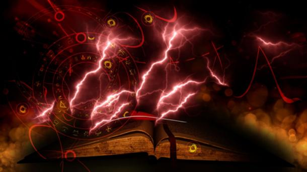 Loftur attempted to get one of the Icelandic books of magic from Gottskalk. (akarb / Adobe)