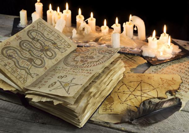 Loftur learned everything in detail from the 'Gray Skin' one of the Icelandic books of magic. (samiramay / Adobe)
