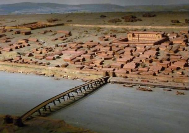 A model of Londinium during the Roman era (SouthEastern Star / Flickr)