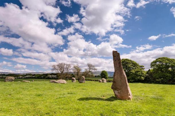 Long Meg and her Daughters. (drhfoto /Adobe Stock)
