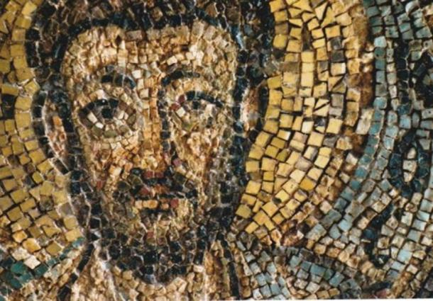 Looted mosaic from the Turkish occupied church of Panagia Kanakaria returns home (CNA - Maria Koniotou)