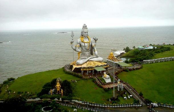 Lord Shiva statue at Murudeshwara.