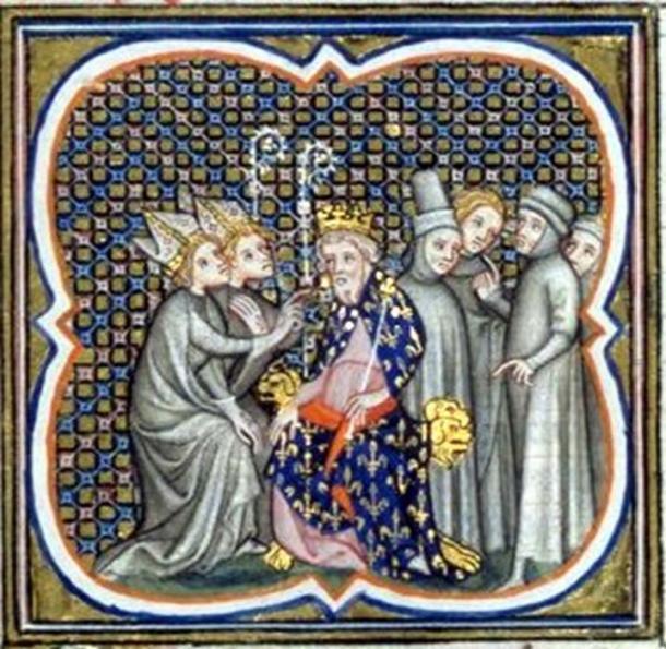 Louis the Pious and envoys. (Wikimedia / Public Domain)