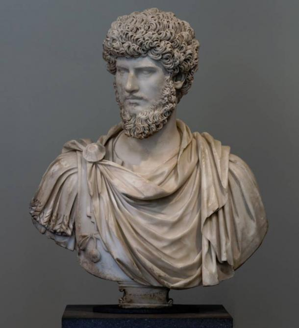 Lucius Verus, Marcus' co-emperor from 161 to Verus' death in 169 (Metropolitan Museum of Art lent by Musée du Louvre)