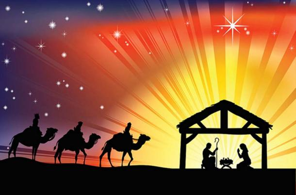 Luke's Gospel tells of Jesus' birth and being placed in a manger. (CC BY-SA 2.0)